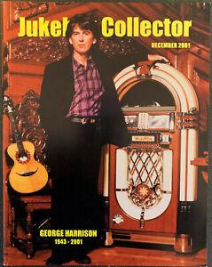 GEORGE HARRISON Cover - JUKEBOX COLLECTOR Magazine Dec 2001 Beatles, Wurlitzer