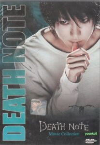 Death Note Collection 1 - 3 Live Action Movie _ DVD _ English Dub _ ALL Region