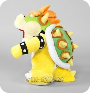 Official Licensed Nintendo Super Mario Plush Soft Toy - Bowser Japanese Import.
