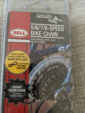 Bell 5/6/7/8 Speed Bike Chain Rear For 5-8 Cogs