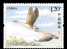 China Stamp-2018-22 A symbol of love and being of one mind Wild geese-MNH