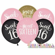 Buy Indrah Sweet 16 Decorations Rose Gold 16th Birthday Party Decorations For Girls 16 Party Supplies Sixteen Birthday Balloon Decorations Online In Turkey B08fd68ryf