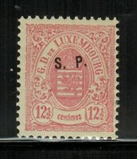 Luxembourg #O48 1881 MLH