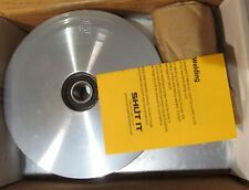 "SHUT IT CI2720 HARDCORE V-GROOVE 6"" GATE WHEEL W/ CARRIAGE PLATES FOR 2"" FRAME"