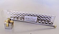 Two's Company Candle Snuffer Gift Box Shape Silver & Gold Tone Metal With Box