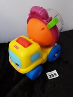 Fisher Price Construction Cement Mixer Truck, kids Toy spinning parts FREE post