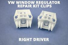 VW BORA GOLF MK4 ELECTRIC WINDOW REGULATOR REPAIR KIT CLIPS FRONT RIGHT DRIVER