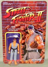 "RYU Street Fighter II Champion Grey Variant ReAction Super7 3.75"" Figure Funko"