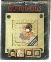 Star Dust Button-Ons Counted Cross Stitch KIT True Colors Crafts NIP
