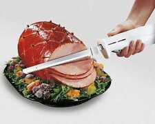Electric Easy One Touch Cordless Kitchen Knife cut Meat Bread Free Shipping New