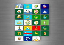 Flag sheet sticker labels country subdivisions states province egypt stamp book