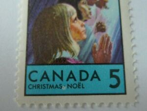 CANADA VARIETY # 502 CHRISTMAS MNH WHITE SPOT, DONUT TYPE AFTER CHRISTMAS # 1104