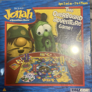 Jonah The Overboard Adventure  VeggieTales Board Game
