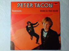 """PETER TACON Taxman 7"""" ITALY UNIQUE RARISSIMO BEATLES"""
