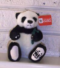 WWF PLUSH PANDA-25th ANNIVERSARY IN CHINA PLUSH-GUND-BRAND NEW-2005-TAGGED-RARE