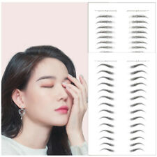 Sourcils 3D Stick-On Autocollant Eye Brow Sticker Maquillage Imperméable