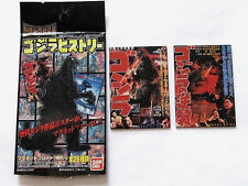 ORIGINAL BANDAI 2 PC MAGNET SET GODZILLA 1954 GODZILLA VS ANGILAS Sea Smog Zero