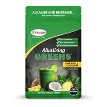 Morlife Alkalising Greens Pineapple Coconut 100g | Alkalize Super Greens