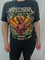 Santana 2006 All That I Am Tour T-shirt Men's M Latin Rock