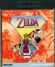 CD-I ZELDA the wand of Gamelon CDI Philips gioco Zelda CDi game CD-I Magnavox
