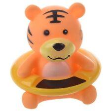 Thermometre de l'eau du bain de bebe en forme de tigre Orange N9D2