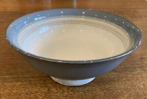 Denby Castile Pedestal Fruit/Salad/Serving Bowl