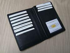 Leder Brieftasche -schwarz- italbörse Kollektion-Rindleder