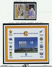 Nevis Mnh 1205-07 Test Match Ag736