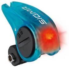 Luces y reflectantes luces traseras azul para bicicletas