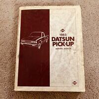 1983 Nissan Datsun Pick-up Service Repair Manual