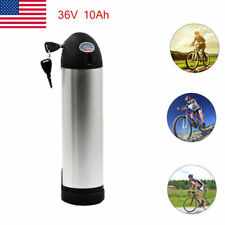 X-go 36V 10AH Silver Bottle Lithium Li-ion Battery for Electric Bicycle E-Bike