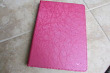 "Kevenz Apple iPad Air gen 5  9.7"" Folio Tablet Book Stand Cover Case Shiny Pink"