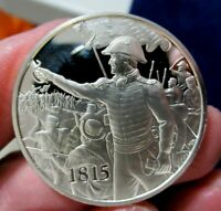 Silver Medal, 1815 Jackson Triumphs at New Orleans, 1.05 Troy Oz. Sterling