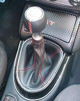 ALFA ROMEO GT 937 (Bj 2003-2010) cuffia cambio + rivestimento pomello vera pelle