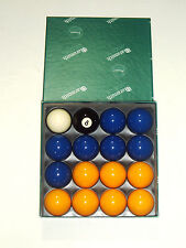 "BLUES & YELLOWS 2"" (50.8mm) ARAMITH PREMIER MATCH POOL BALLS"