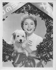JANET LEIGH original posed MGM studio publicity still photo b/w MERRY CHRISTMAS