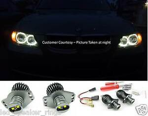 Angel Eyes LED Marker Light 2006-2008 E90 E91 Pre-LCI For BMW - 20W CREE LED