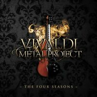 VIVALDI METAL PROJECT - THE FOUR SEASONS   CD NEW+