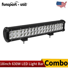 """18""""inch 630W Led Work Light Bar Combo Driving Offroad 4WD Ford Truck Atv UtE 20"""""""