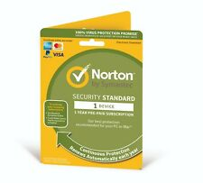 NEW VERSION Norton Security Standard 2020 1 Device 1 Year -Email Delivery 2 Days