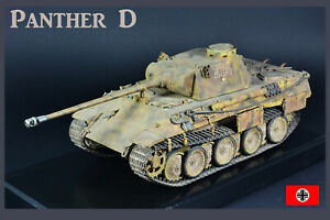 PRO-BUILT 1/35 Panther D WW2 German tank finished model (IN STOCK)