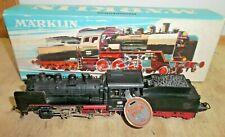 Märklin 3003 H0 Schlepptender - Dampflok BR 24 058 der DB mit Prüfsiegel in OVP