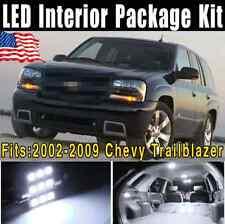 17X Xenon White LED Lights Interior Package Kit 2002-2009 For Chevy Trailblazer