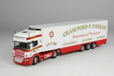 Tekno Crawford F Parker Scania 4-Series Topline 4 x 2 with 3-axle Fridge Trailer