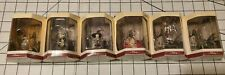 Disney's Tiny Kingdom Nightmare Before Christmas Pre-Owned Boxed Figures qty 6