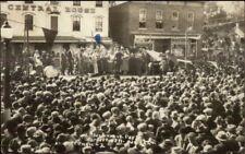 Forreston IL Cancel Sauerkraut Day Festival 1924 Real Photo Postcard