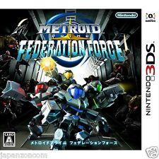 Metroid Prime: Federation Force NINTENDO 3DS JAPANESE  JAPANZON COM