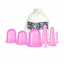 Cupping Therapy Sets 7Pcs Silicone Anti Cellulite Cup Vacuum Suction Massage ...
