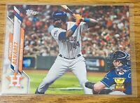 YORDAN ALVAREZ Topps 2020 Factory Set RC Rookie. Photo Variant SP. Astros