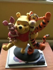 Disney Winnie The Pooh And Friends Resin Ornament of Pooh, Tigger & Piglet